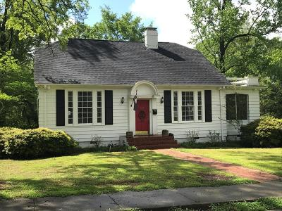 Greenwood County Single Family Home For Sale: 302 Jennings