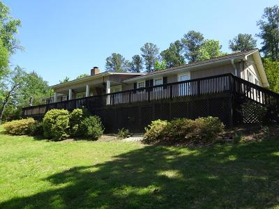 Cross Hill Single Family Home For Sale: 560 Cane Creek Camp Rd