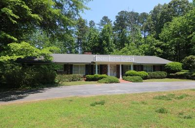 Greenwood County Single Family Home For Sale: 153 Rutledge Rd