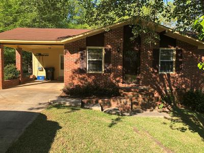 Abbeville SC Single Family Home For Sale: $79,000