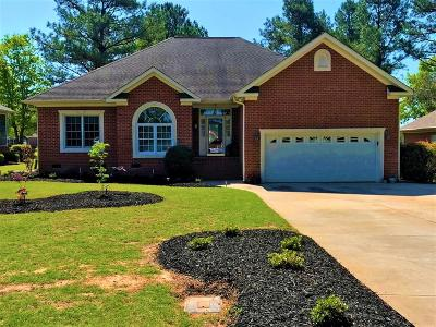 Greenwood SC Single Family Home For Sale: $217,900