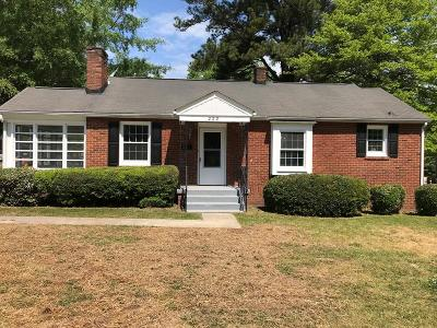 Greenwood County Single Family Home For Sale: 222 W Laurel Avenue
