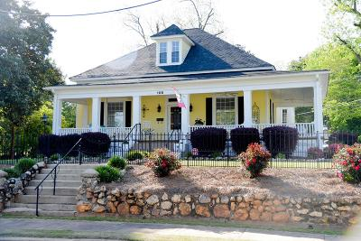 Abbeville Single Family Home For Sale: 106 Wardlaw Street