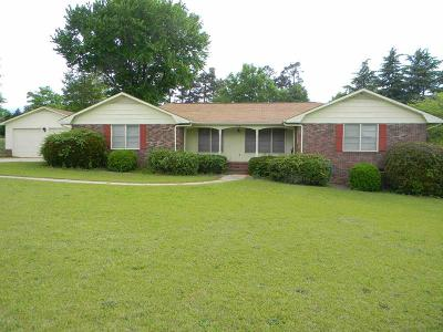 Greenwood SC Single Family Home For Sale: $174,900