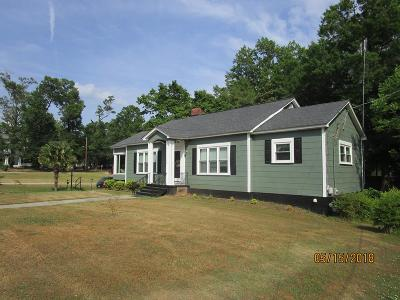 Abbeville SC Single Family Home For Sale: $179,900