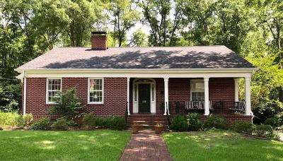 Greenwood County Single Family Home For Sale: 126 Blyth Ave