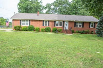 Greenwood County Single Family Home For Sale: 1801 East Durst Ave