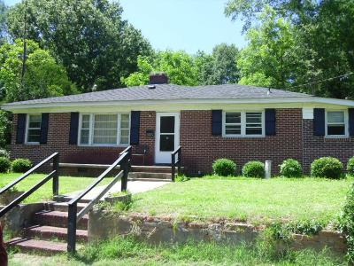 Greenwood SC Single Family Home For Sale: $59,900
