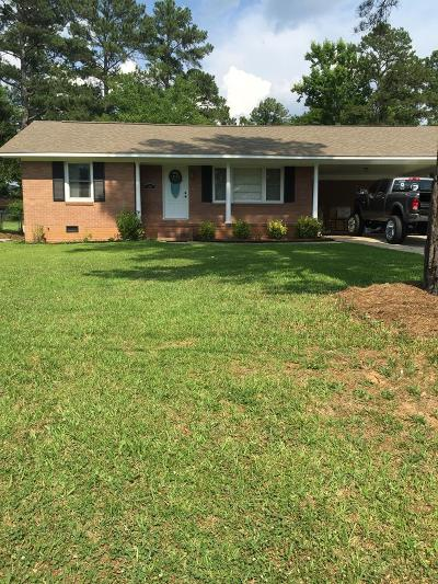 Greenwood County Single Family Home For Sale: 114 Manning Road