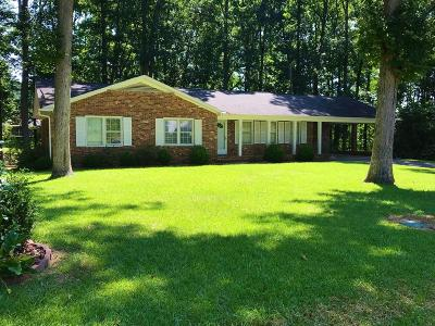 Greenwood County Single Family Home For Sale: 107 Yosemite Drive