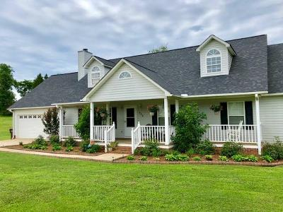 Abbeville SC Single Family Home For Sale: $225,000