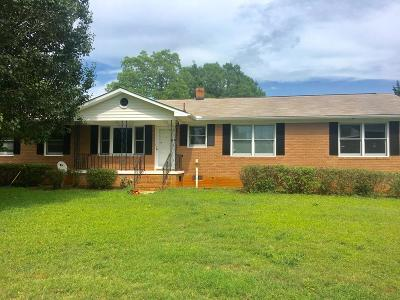 Greenwood County Single Family Home For Sale: 724 Fairforest Drive