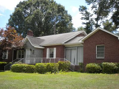 Ware Shoals Single Family Home For Sale: 109 Greenwood Ave S