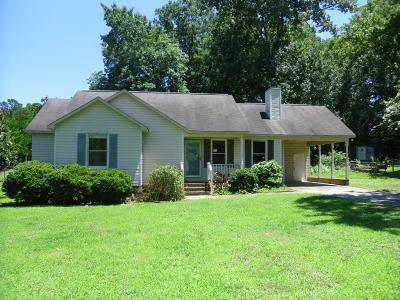 Greenwood County Single Family Home For Sale: 218 Charles Rd