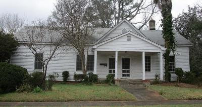 Abbeville SC Single Family Home For Sale: $39,900