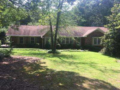 Greenwood County Single Family Home For Sale: 129 Rutledge Rd.