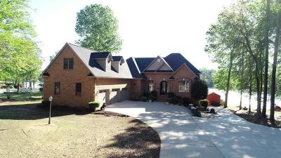 Cross Hill Single Family Home For Sale: 1984 Summerset Bay Drive
