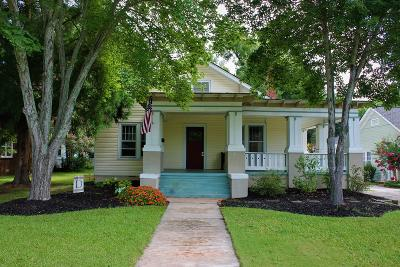 Abbeville SC Single Family Home For Sale: $165,000
