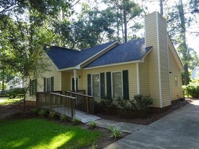 Greenwood Single Family Home For Sale: 111 Loblolly