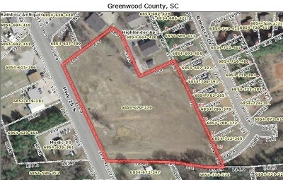 Greenwood County Residential Lots & Land For Sale: Highway 25 South