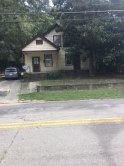 Greenwood SC Multi Family Home For Sale: $62,900