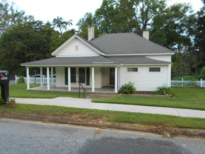 Ware Shoals Single Family Home For Sale: 33 Smith