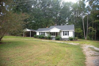 Greenwood County Single Family Home For Sale: 2691 Cokesbury Road