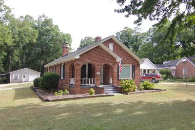 Greenwood County Single Family Home For Sale: 1203 McCormick Highway