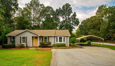 Greenwood County Single Family Home For Sale: 225 Charles Road