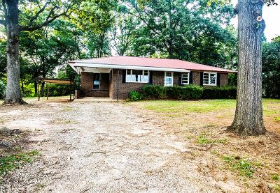 Greenwood County Single Family Home For Sale: 117 Pinsonville Road