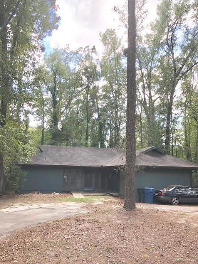 Greenwood SC Single Family Home For Sale: $95,000