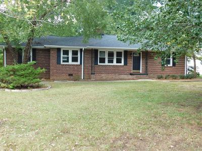 Greenwood Single Family Home For Sale: 1114 McCormick Hwy