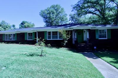 Greenwood SC Single Family Home For Sale: $186,900