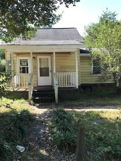 Abbeville SC Single Family Home For Sale: $24,900