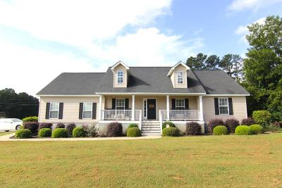 Greenwood SC Single Family Home For Sale: $169,500