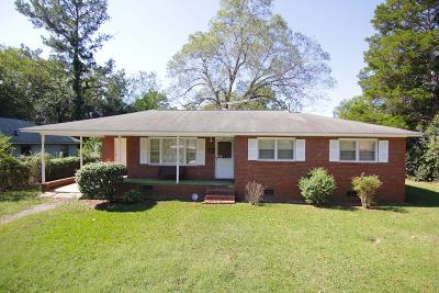Greenwood SC Single Family Home For Sale: $48,000