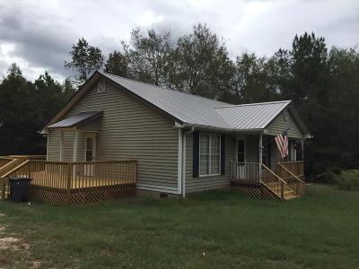 Abbeville SC Single Family Home For Sale: $99,900