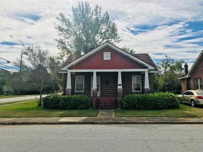 Greenwood SC Single Family Home For Sale: $55,900