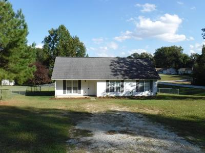 Greenwood SC Single Family Home For Sale: $83,500