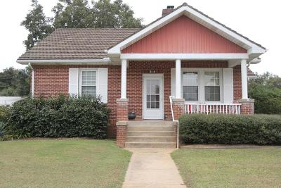 Greenwood SC Single Family Home For Sale: $113,000