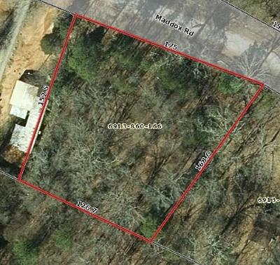 Ware Shoals Residential Lots & Land For Sale: Maddox Rd