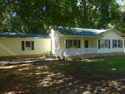 Greenwood SC Single Family Home For Sale: $129,700