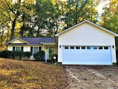 Greenwood SC Single Family Home For Sale: $119,000