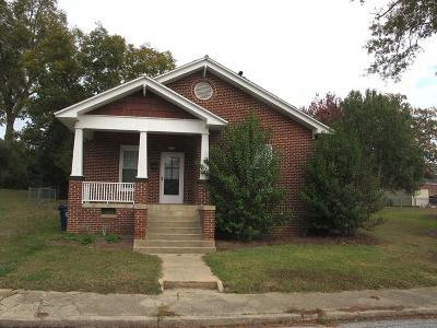 Greenwood County Single Family Home For Sale: 121 Sherard
