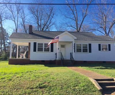 Abbeville Single Family Home For Sale: 105 Elizabeth St