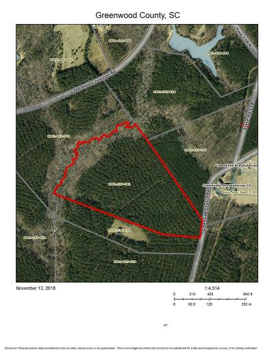 Donalds Residential Lots & Land For Sale: 300 Greenville Ch Rd