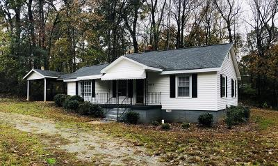 Greenwood Single Family Home For Sale: 2691 Cokesbury Road