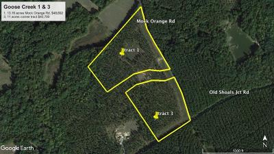 Donalds Residential Lots & Land For Sale: Mock Orange Rd.