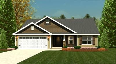 Greenwood SC Single Family Home For Sale: $182,286