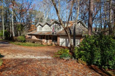 Greenwood Single Family Home For Sale: 102 Tall Pines Trail